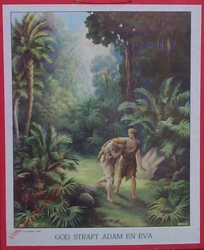 2 - God straft Adam en Eva
