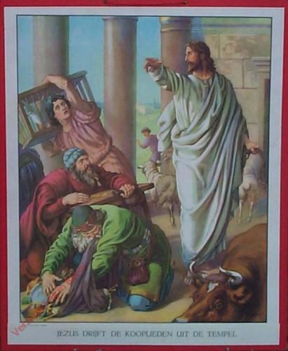 26 - Jezus verdrijft de kooplieden uit de tempel