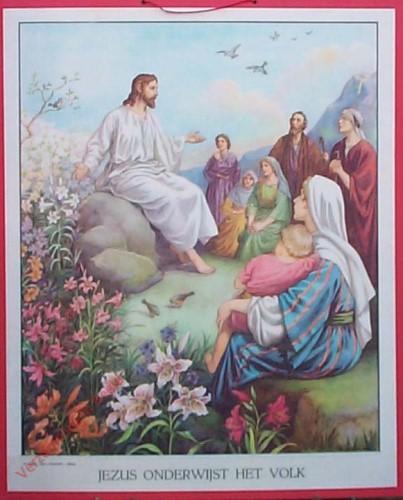 28 - Jezus onderwijst het volk