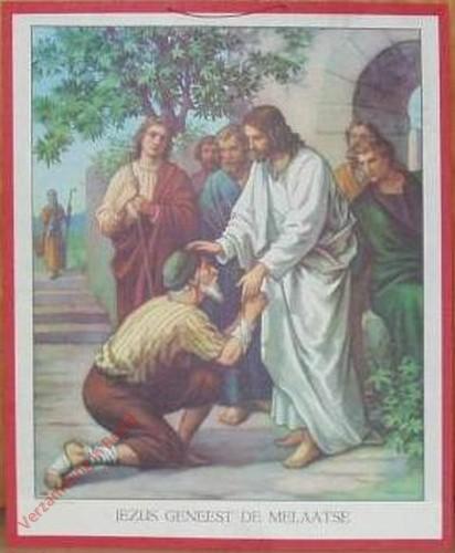 36 - Jesus geneest de melaatse