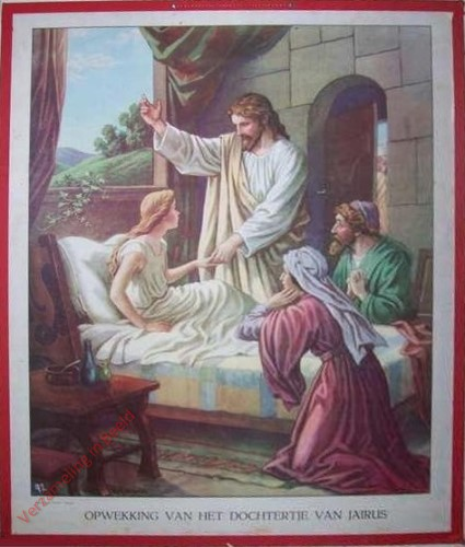 38 - Opwekking van het dochtertje van Jaïrus