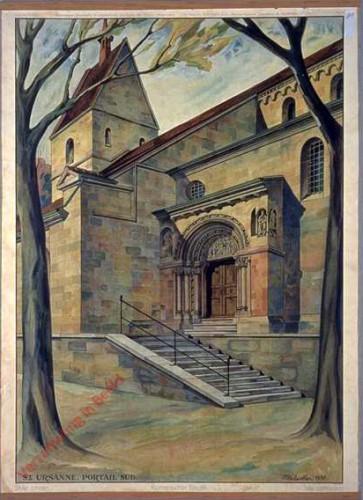 4 - Romanischer Baustil (St. Ursanne)