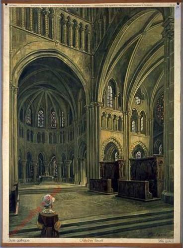 16 - Gotischer Baustil (Kathedrale Lausanne)
