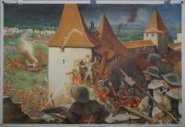 23 - Belagerung von Murten 1476