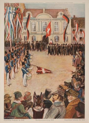 54 - Bundesversammlung 1848