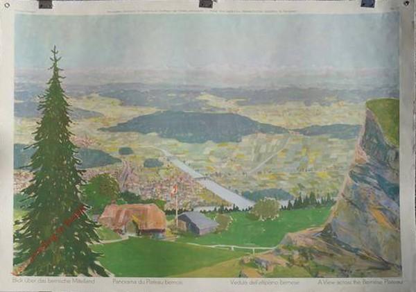 77 - Blick über das bernische Mittelland