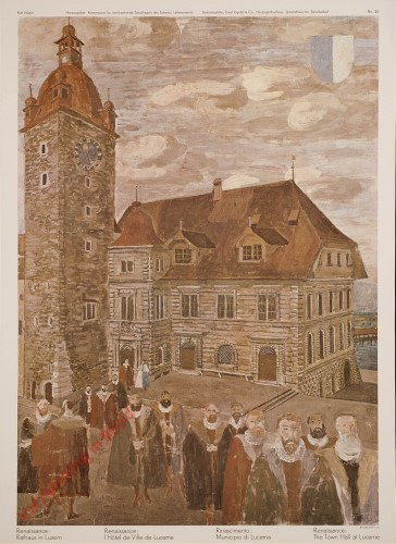 120 - RenaissanceL Rathaus in Luzern