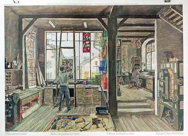 124 - Glasmalerwerkstatt