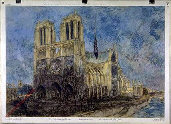 128 - Gotischer Baustil