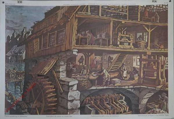 194 - Papierherstellung im Mittelalter