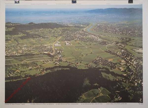 224 - Flugbild unteres St. Galler Rheintal