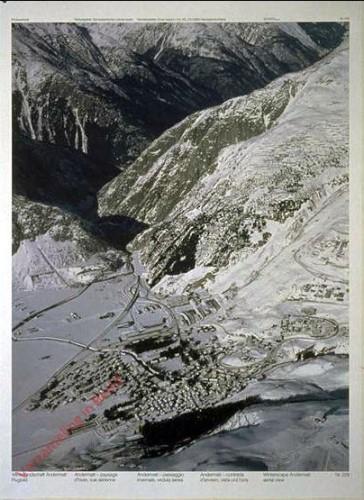 228 - Winterlandschaft Andermatt