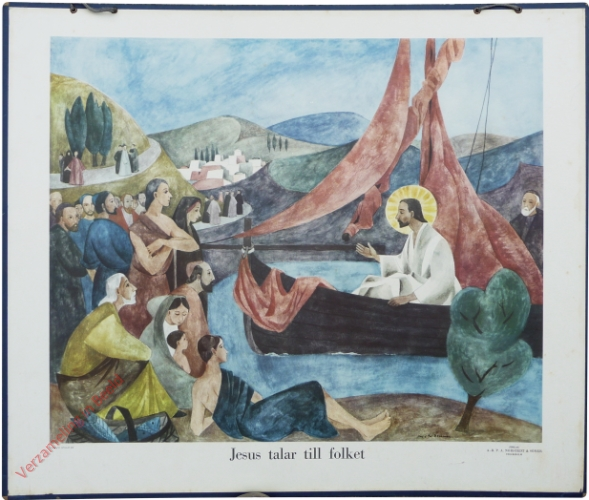 Jesus talar till folket